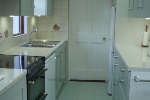 Kitchen at Rosevale